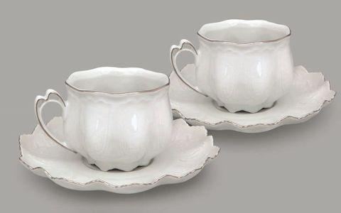 Набор из двух чайных пар  0,20 л Виктория Leander