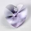6202/6228 Подвеска Сваровски Сердечко Violet (10,3х10 мм)