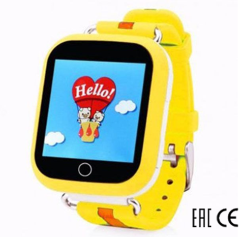 Smart Baby Watch Q90(GW200S) Желтые
