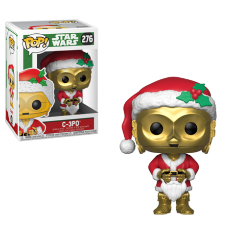 C-3PO. Star Wars Holiday Funko Pop! Vinyl Figure || Новогодний C-3PO