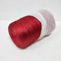 Lanar, Вискоза 100%, Блестящий красный, 1500 м в 100 г