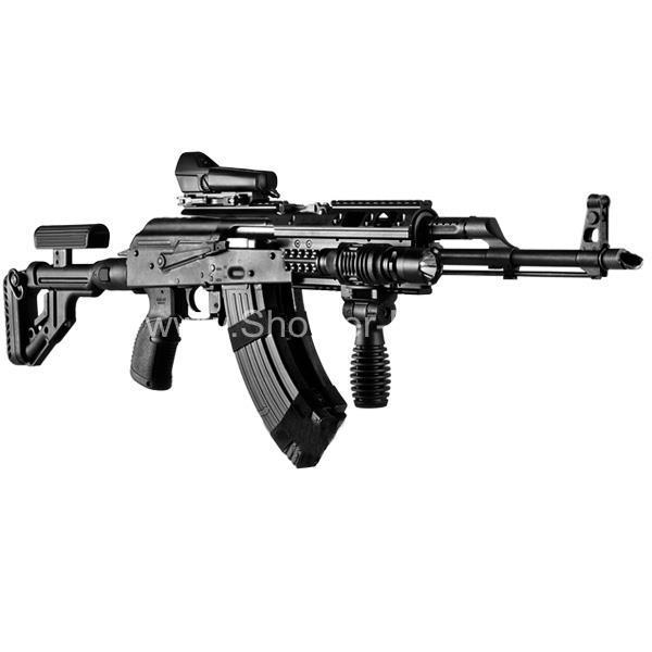 Пистолетная рукоятка пластиковая прорезиненная AGR-47 (green) для AK, Сайга, Вепрь FAB Defense фото