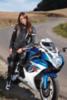 Мотошлем - PROBIKER PR2 (бело-серый)