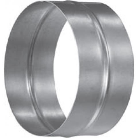 Муфта-ниппель D 125 мм оцинкованная сталь