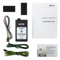 GSM модуль Altox EBUS-5 GPS 6