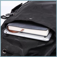 Рюкзак с карманами повседневный для города КАКА 2209 чёрный