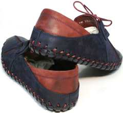 Туфли мужские мокасины летние Luciano Bellini 23406-00 LNBN.