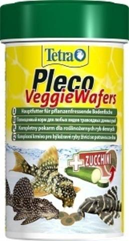 TETRAPleco Veggie Wafers (пластинки) корм для сомиков и