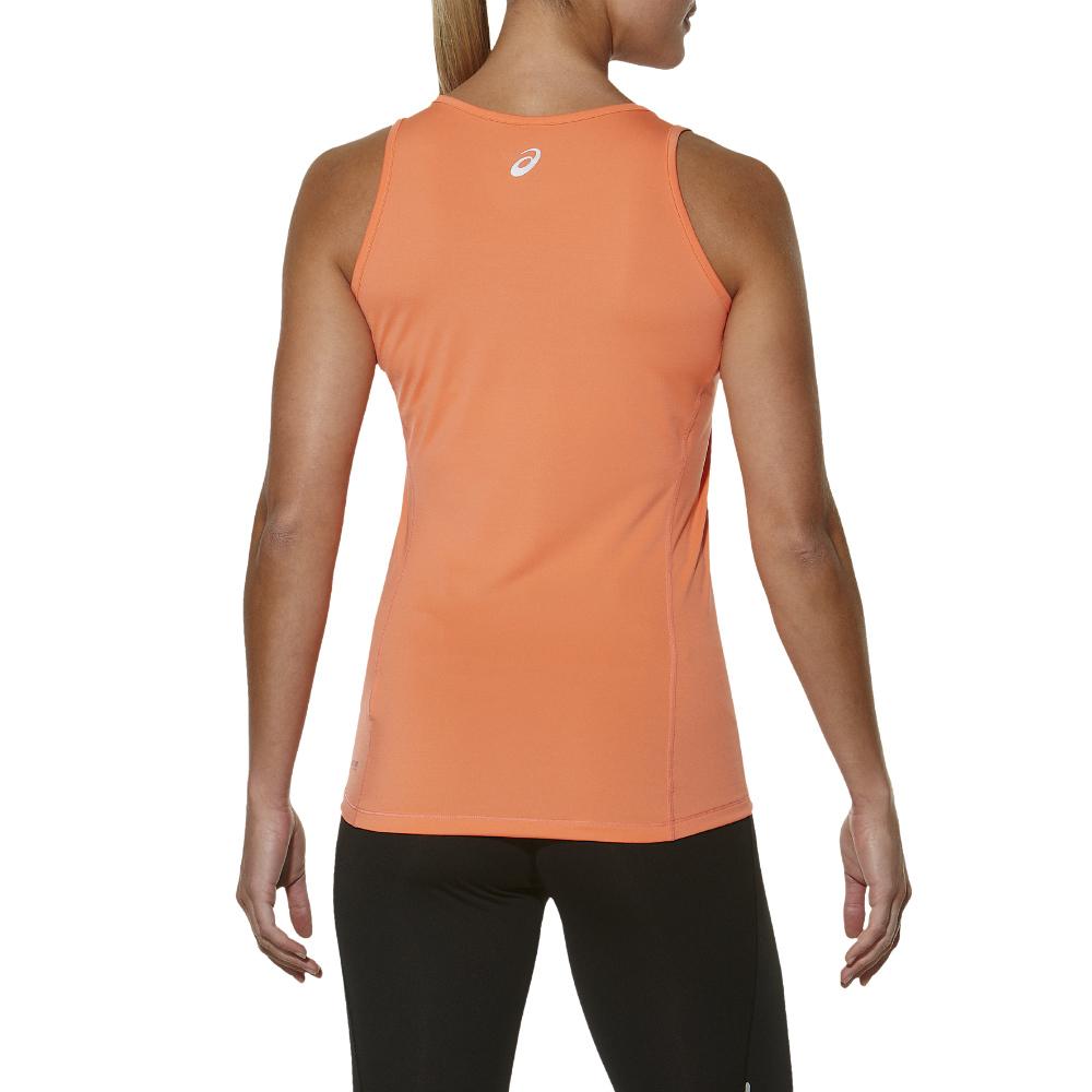 Женская беговая майка асикс Tank (110421 0646) оранжевая