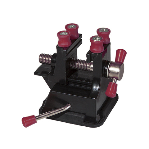 Мини тиски с фигурным зажимом, на присоске JAS, 35 мм