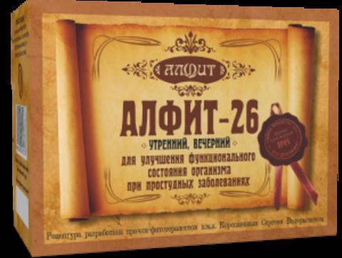 Фитосбор Алфит-26 Для профилактики осложнений ОРВИ, 60 ф/п*2г