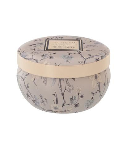 Свеча ароматическая в алюминиевой банке Индийский чай и цветок липы, Wax Lyrical