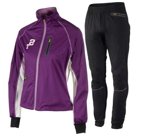 Лыжный костюм женский Stoneham Exercise purple