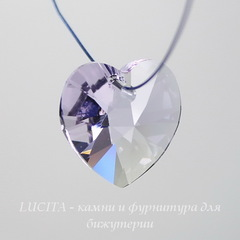 6228 Подвеска Сваровски Сердечко Violet (10,3х10 мм)