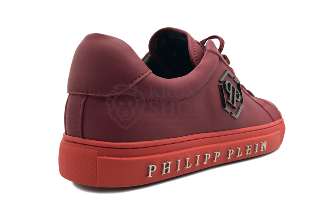 Philipp Plein Men's Over The Top Red