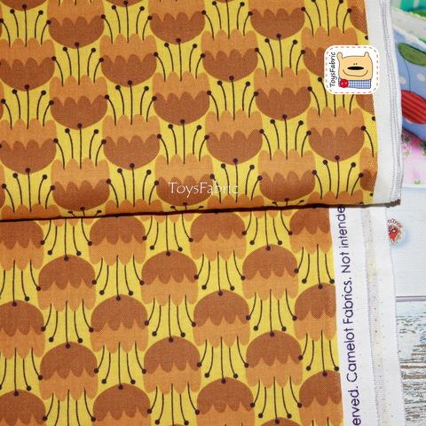 Ткань для пэчворка 20803 (медоносы) 45х55см