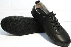 Кроссовки casual женские Evromoda 115 Black