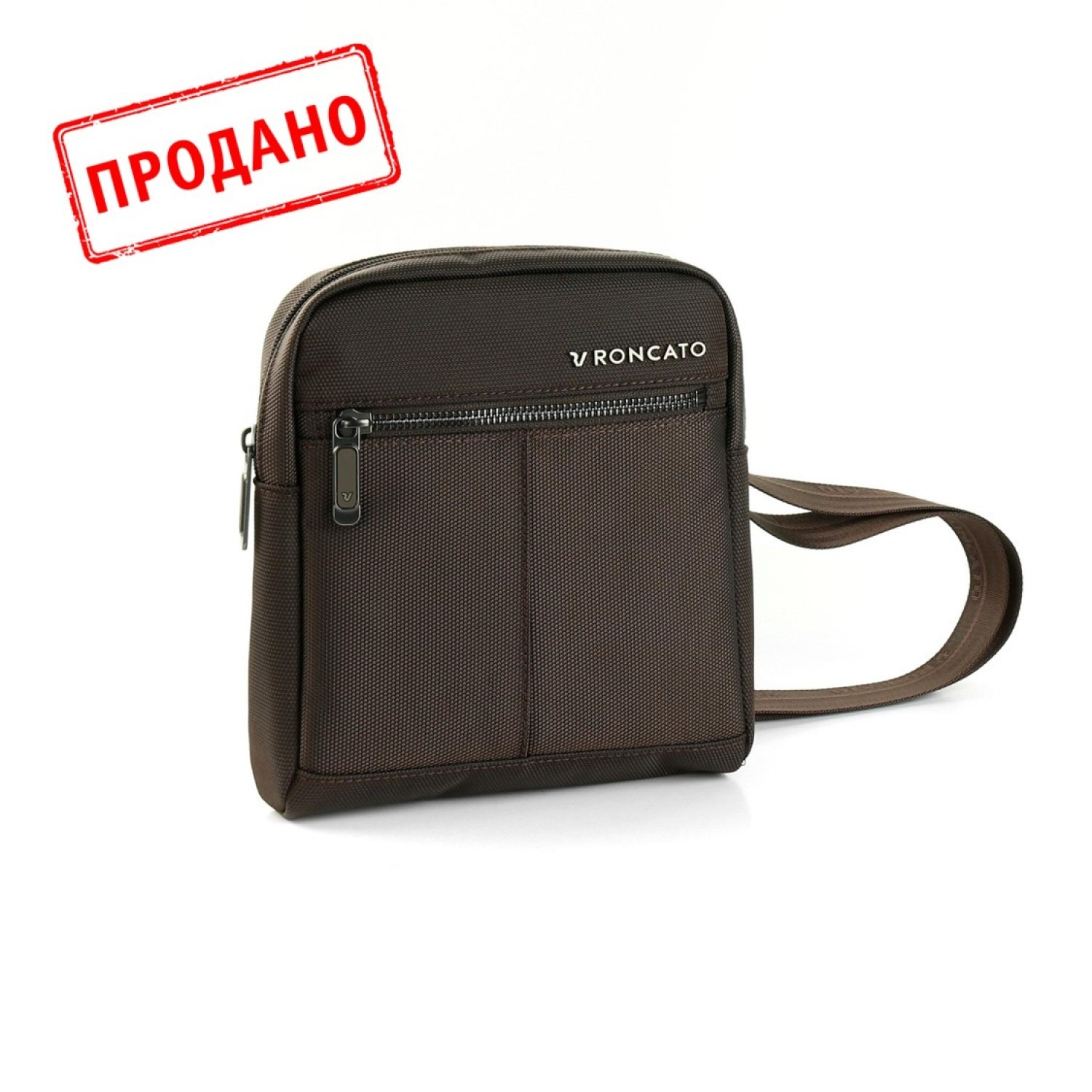 Плечевая сумка Roncato WALL STREET utility Brown