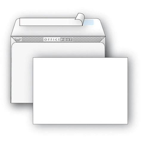 Конверты Белый С4стрип OfficePost229х324 250шт/уп/3657