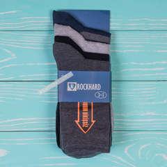 Носки мужские высокие ROCKHARD 3+1 шт./упаковка