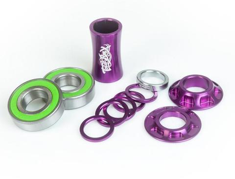 BMX Каретка TotalBMX Team Mid 22mm Фиолетовая