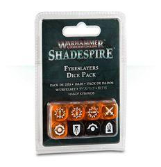 Warhammer Underworlds: Shadespire – Fyreslayers Dice Pack