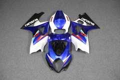 Комплект пластика для мотоцикла Suzuki GSX-R1000 07-08 Бело-Синий
