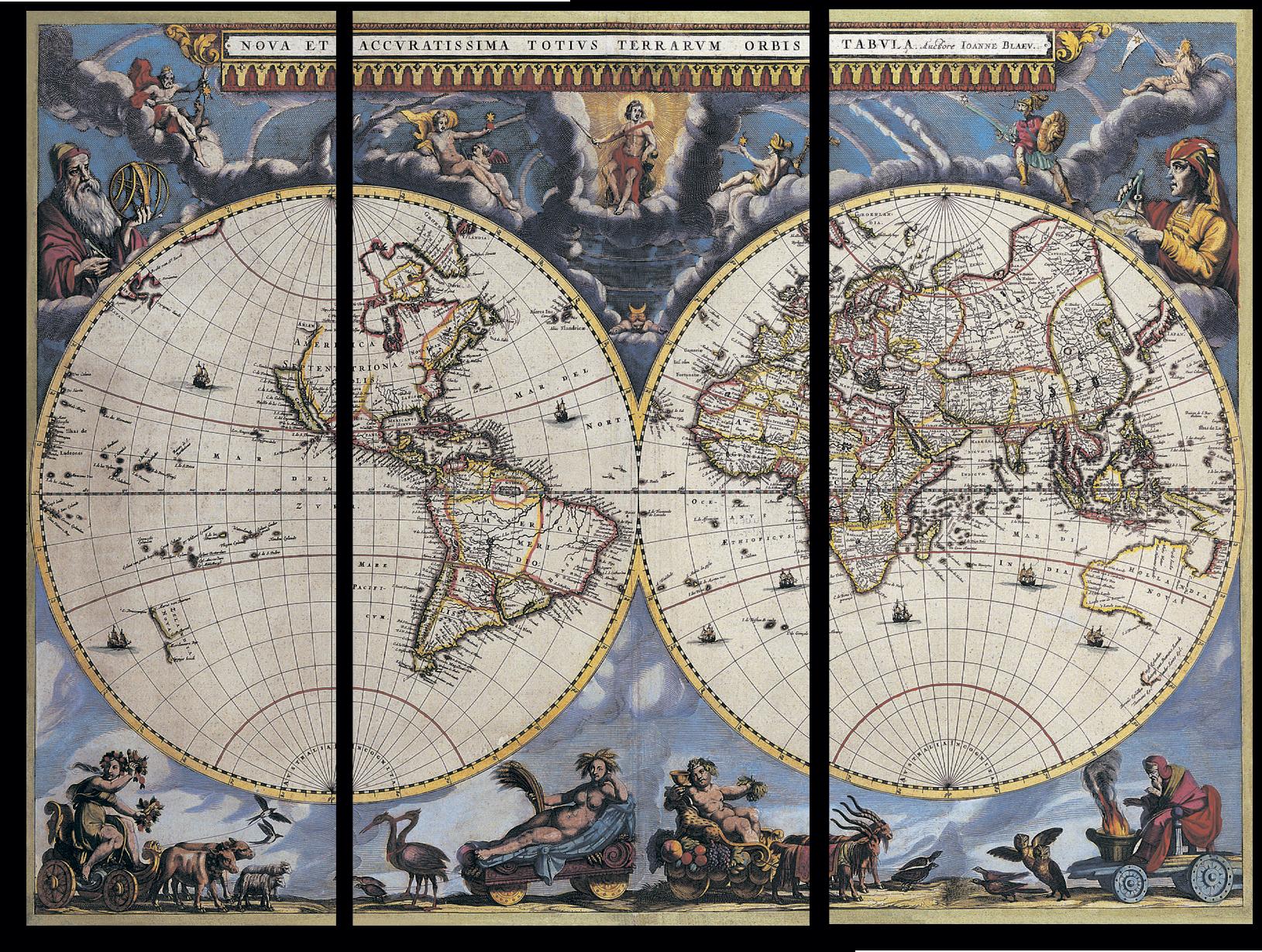"Для мужчин Модульная картина ""Карта мира"" М733.png"