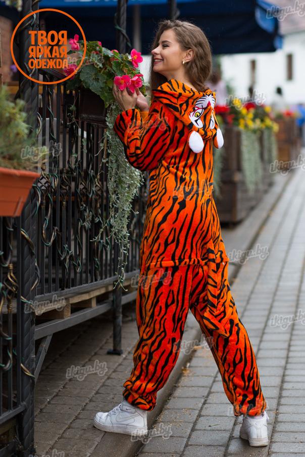 Пижамы кигуруми Красный Тигр tiger.jpg