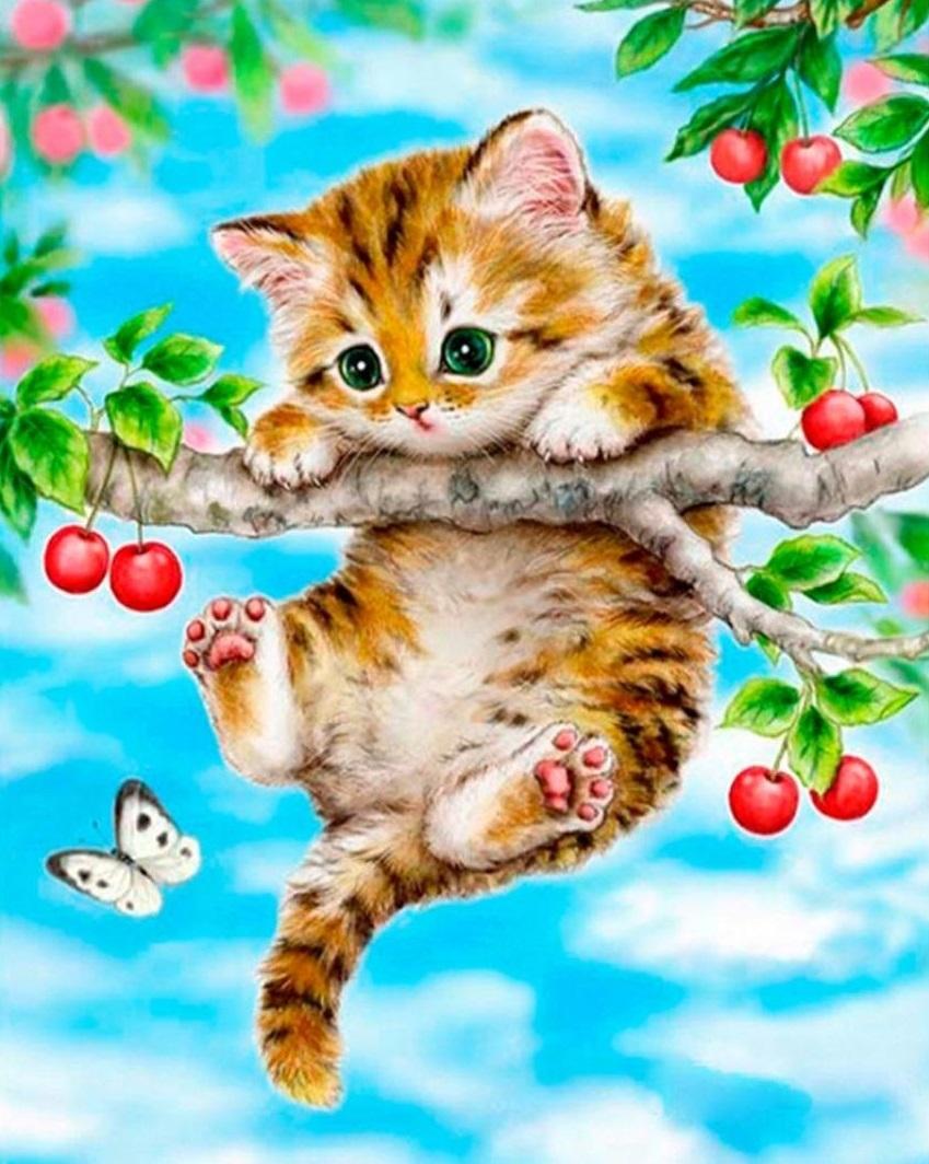 Доброе утречко картинки прикольные котята