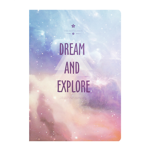 Тетрадь Dream and Explore 48 листов Омбре