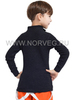 Терморубашка из шерсти мериноса Norveg -60 детская воротник стойка