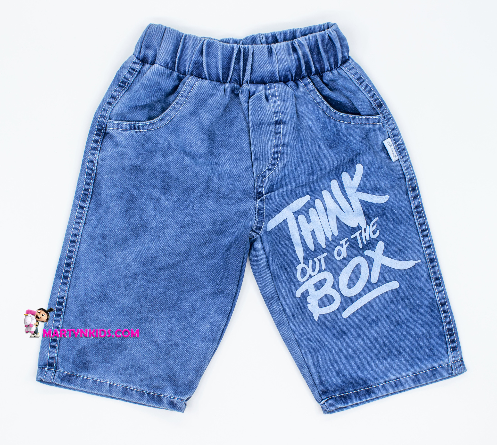 2435  шорты BOX джинс