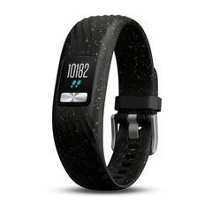 Фитнес-браслет Garmin Vivofit 4 Черный с блестками (стандартного размера) 010-01847-02