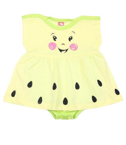 Cherubino Боди-платье для девочки CSN4160 (171) желтый