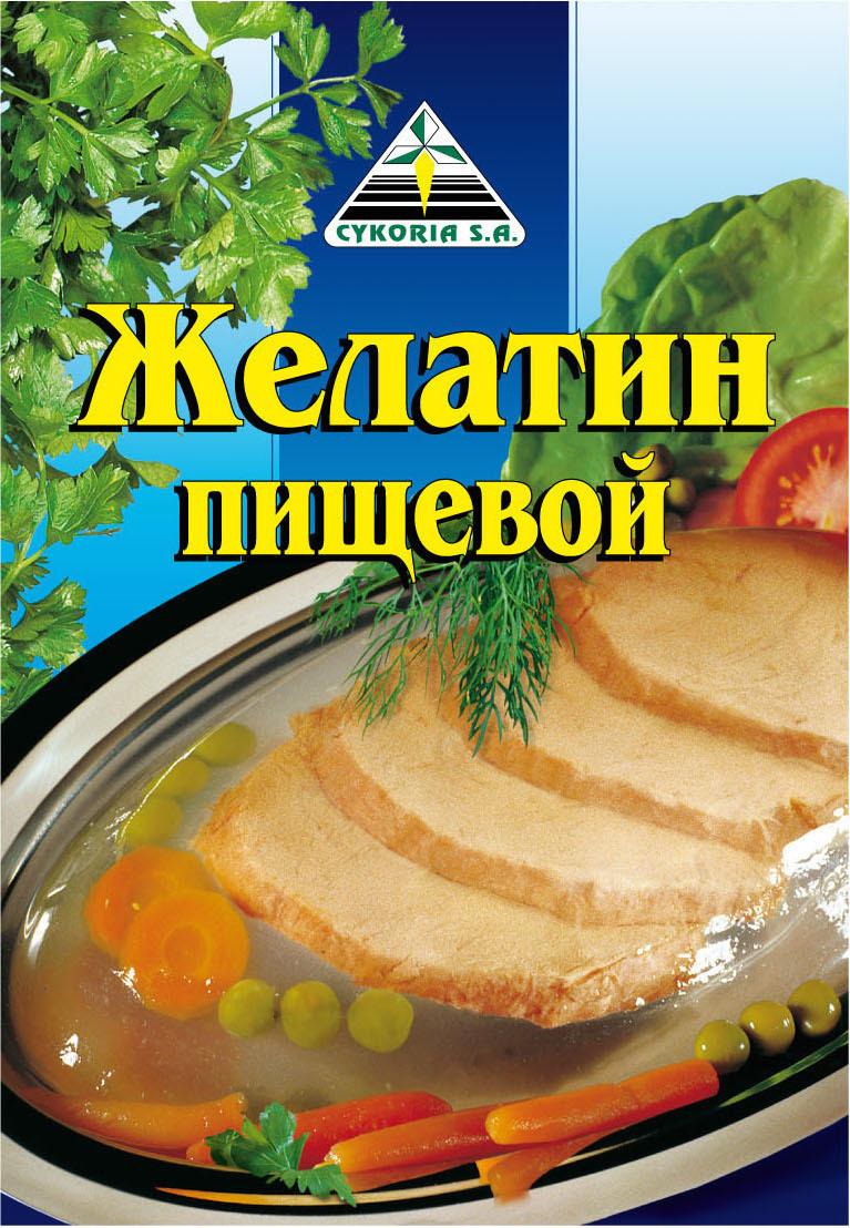 Желатин пищевой, 30п х 25г