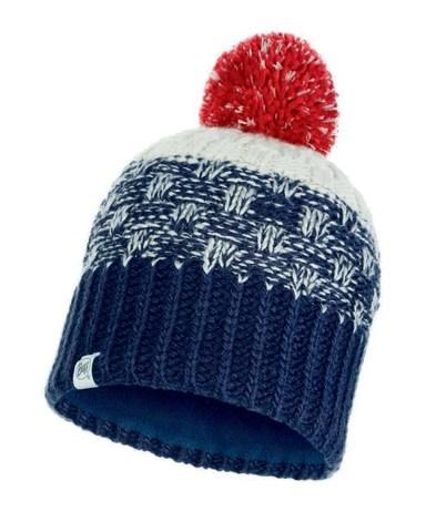 Вязаная шапка с флисовой подкладкой детская Buff Hat Knitted Polar Tait Dark Denim Jr