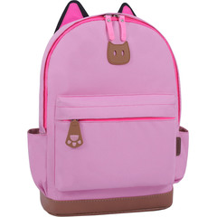 Рюкзак Bagland Ears розовый (0054566)