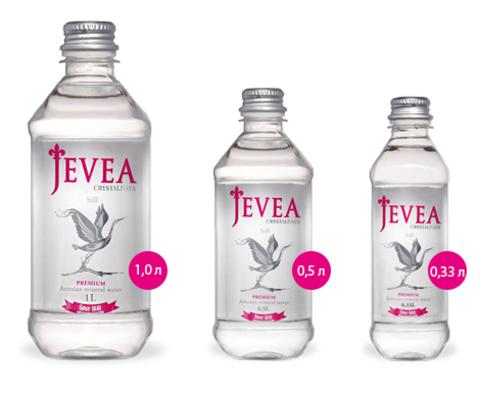 Вода Jevea Crystalnaya Still, 0.33 л