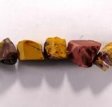 Бусина из мукаита, фигурная, 13x15 - 18x20 мм (природная форма)