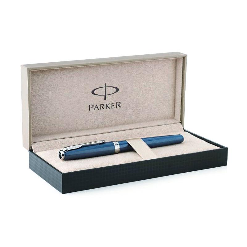 Parker Sonnet  - Secret Blue Shell, ручка-роллер, F, BL