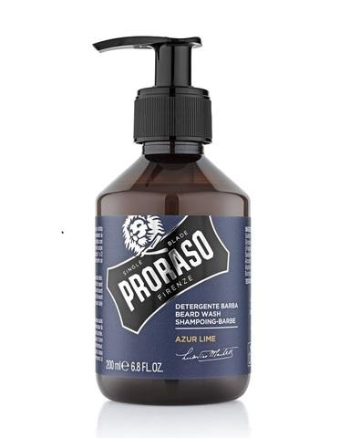 Шампунь для бороды Proraso Azur Lime