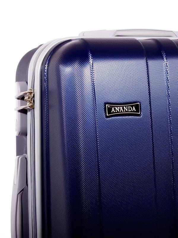 Чемодан Ananda 533 Темно-синий (L)
