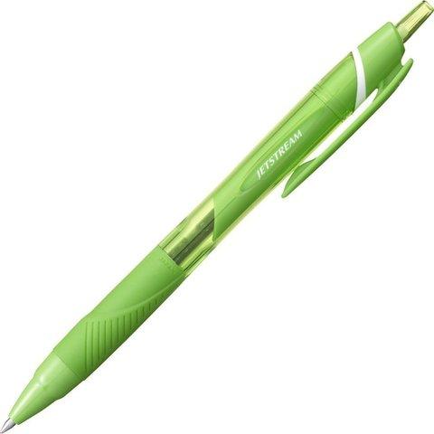Шариковая ручка Uni Jetstream Color (0,7 мм, цвет чернил: лаймово-зеленый)