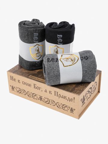 Подарочный набор Правильных носков ПОЕДИНОК ПЕРЕСВЕТА С ЧЕЛУБЕЕМ  (3 пары)