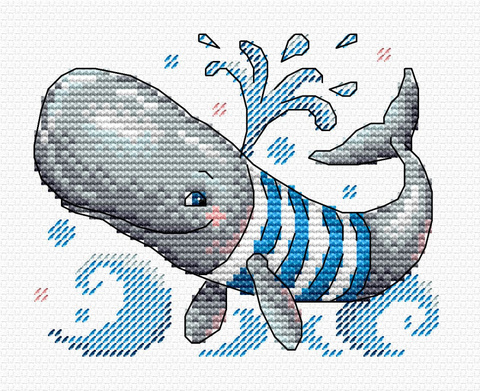 Забавный пловец
