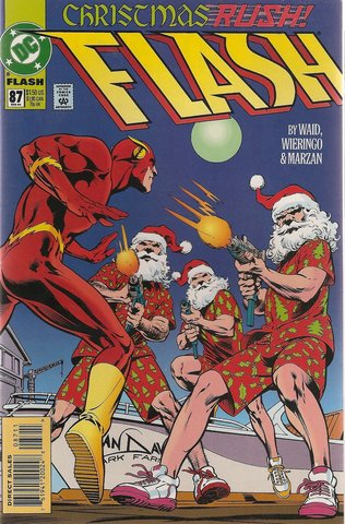 Flash #87 Christmas Rush!
