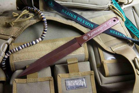 Метательный нож Кантемир 30ХГСА набор из 3 ножей