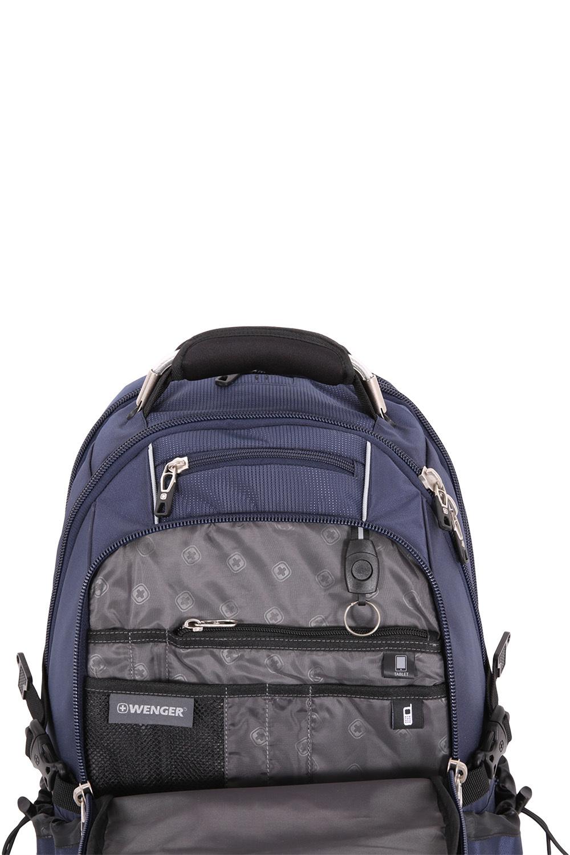 Рюкзак WENGER ScanSmart, цвет синий, отделение для ноутбука 15