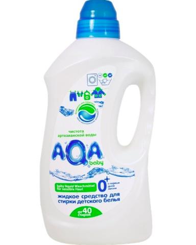 AQA baby. Жидкое средство для стирки детского белья, 1500 мл